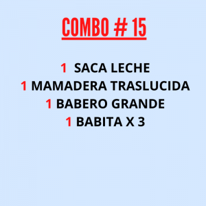 COMBO : LACTANCIA