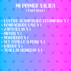 "COMBO: MI PRIMER SALIDA ""..."