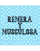 REMERAS Y MUSCULOSAS